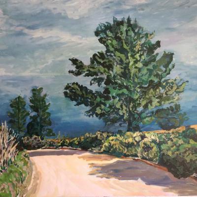 'Riebeeks River Road' 120 x 90 cm