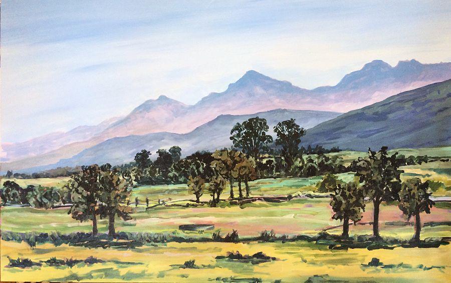 'Riversdale' 150 X 95 cm
