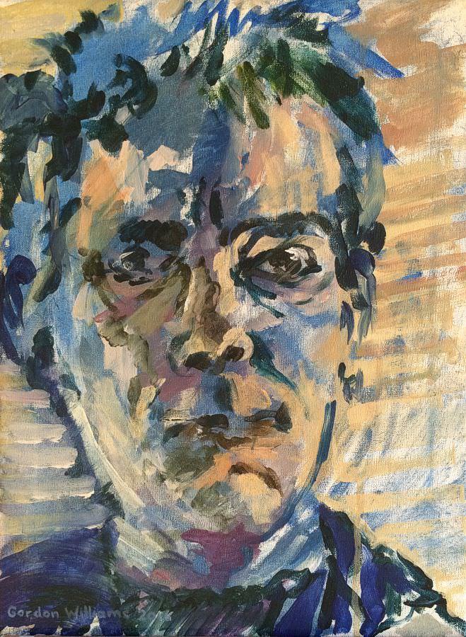 'Self Portrait'  40 x 30 cm