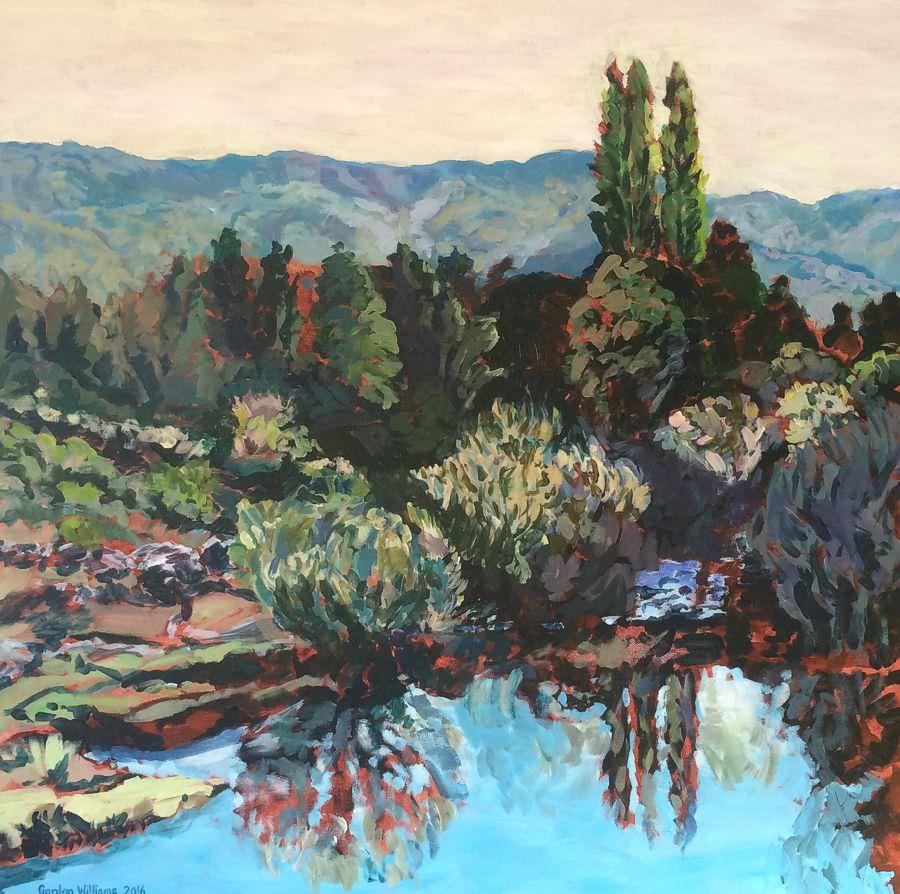 'Breede River'  80 x 80 cm