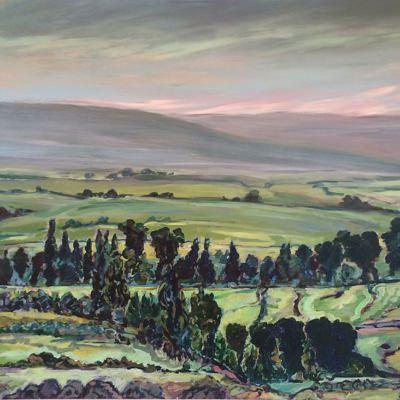 'Mooreesburg Vista' 150 x 95 cm