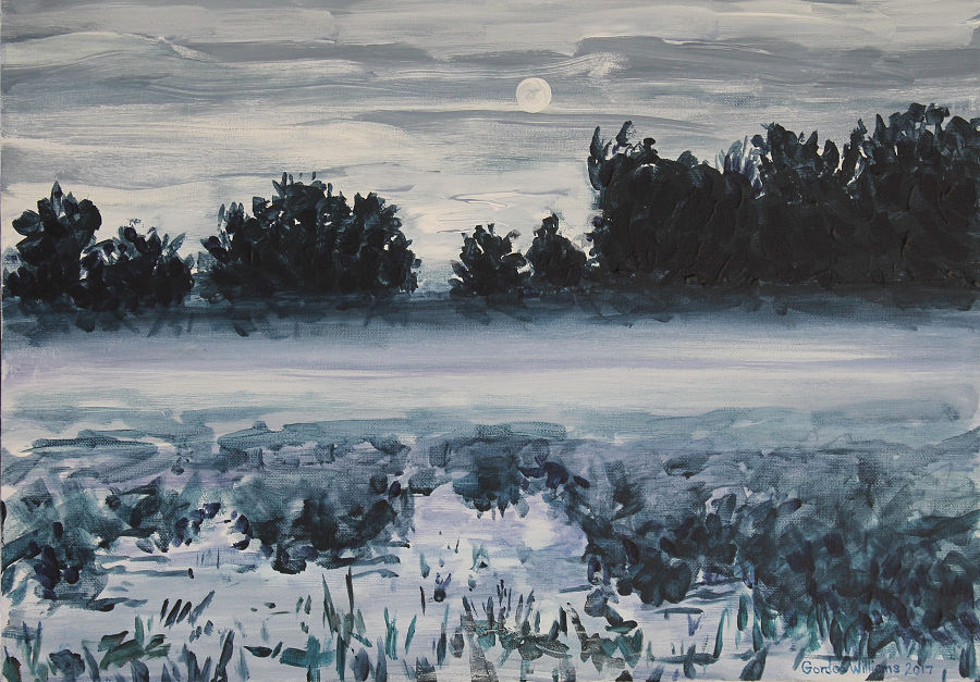 Moonscape 400 x 300mm