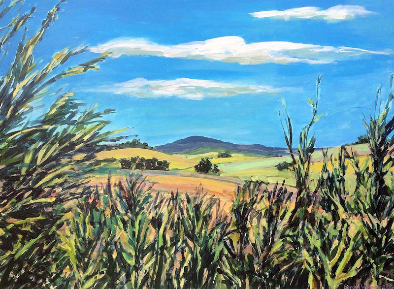 Reeds 70 x 95 cm